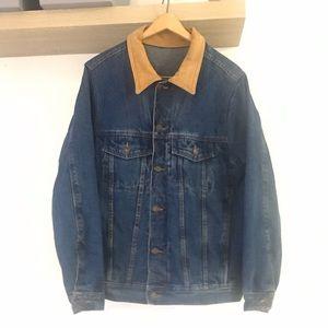Men's denim and suede Canada Sportswear jacket